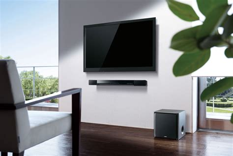 sound bar on top or below tv how to pick the right sound bar to go with your new flat