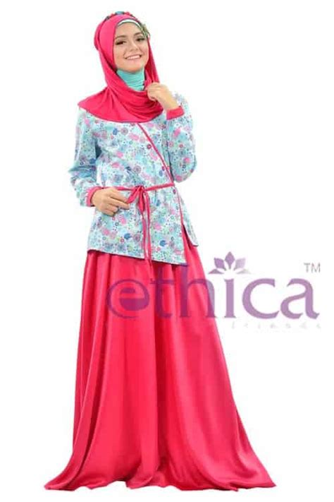 Gamis Pesta Ethica model baju pesta renda muslim terbaru ethica collection