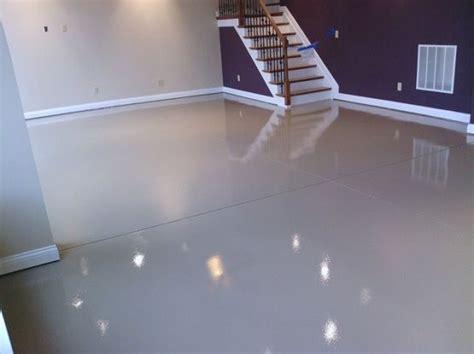 White epoxy paint waterproof basement flooring    Pinteres