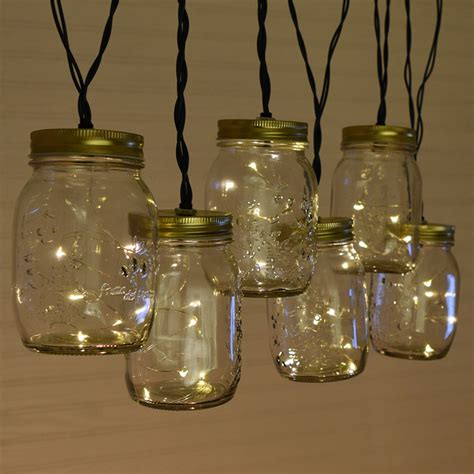 Mason Jar Outdoor String Lights Exle Pixelmari Com Jar String Lights