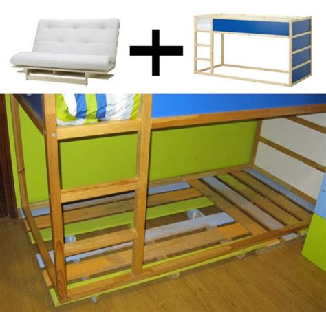 Ikea Bunk Bed Hack 17 Best Images About Kura Hack On Pinterest Loft Beds Ikea Hacks And Stairs