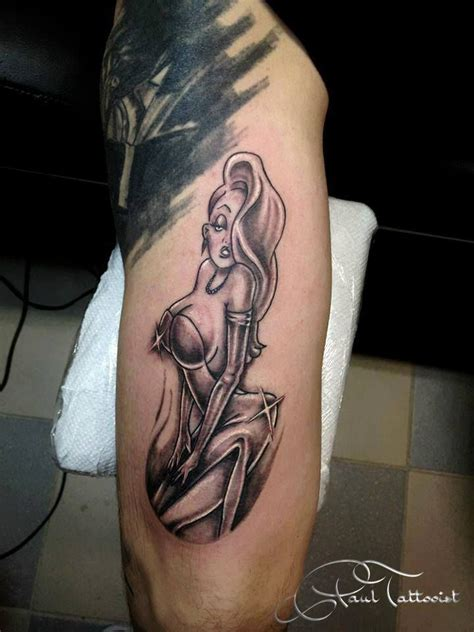 jessica rabbit tattoo rabbit ink me