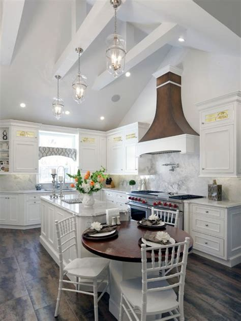 vaulted ceiling kitchen design ideas remodel pictures