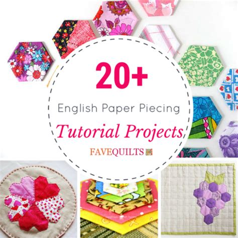 free patterns english paper piecing 20 english paper piecing tutorial projects favequilts com
