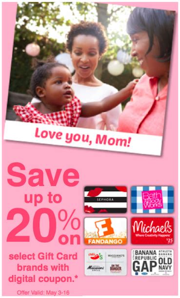 Gift Cards At Ralphs - ralphs kroger mother s day gift card deals the accidental saver
