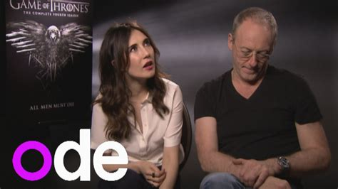 actor game of thrones season 5 the secrets of game of thrones season 5 cast interviews
