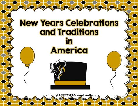 new year traditions in usa lmn tree new year s traditions around the world resources