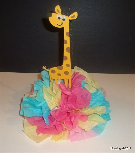 Giraffe Centerpieces For Baby Shower by 17 Best Images About Giraffe Baby Shower On