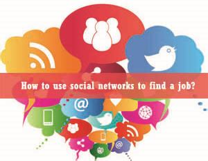 How To Find On Social Networks How To Use Social Networks To Find A