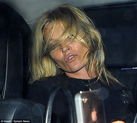 The 3am Worse For Wear Kate Moss And Osbourne Pair Up For A Out by Kate Moss Leaves Fashion Week Bash Looking A