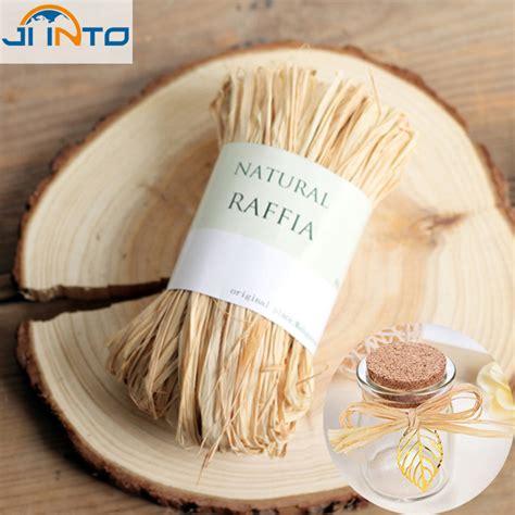 Tali Rami Halus raffia straw paper gift wrap box