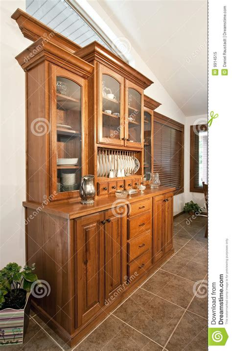 dining room hutch buffet royalty  stock photo image