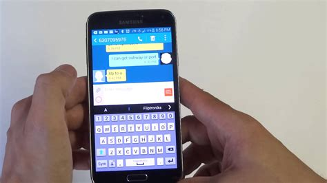 solutions to samsung galaxy s5 text messaging related issues