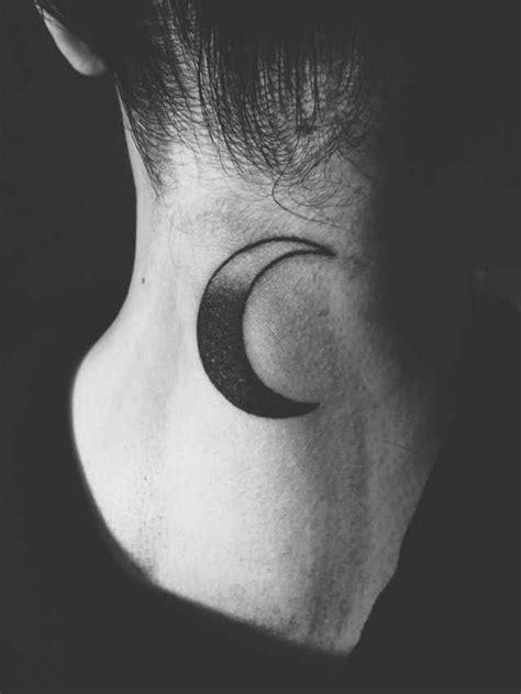 tattoo moon neck moon neck tattoo tattoos pinterest