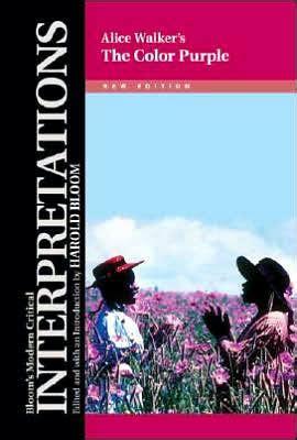 The Color Purple Walker By Harold Bloom Hardcover