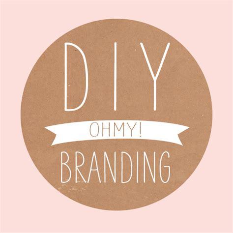 diy logo diy branding oh my oh my handmade