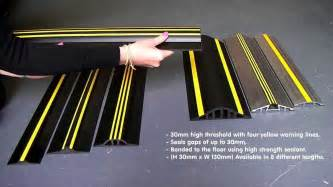 Overhead Door Threshold Garage Door Threshold And Rubber Seal Kits Wageuzi