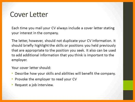 what should a resume cover letter contain ironviper co