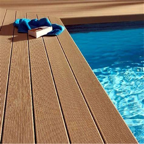 wood plastic boat decking material waterproof