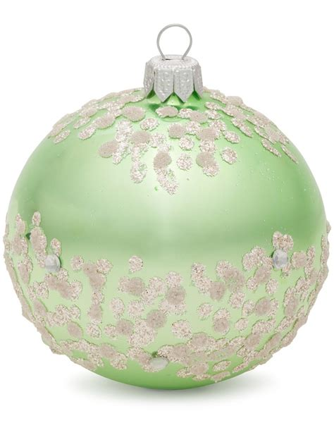 dagmara winter frost ornament 8cmbauble at david jones