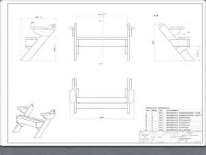plan banc transformable en table par deveault sur l air