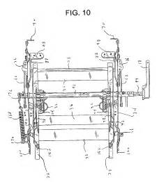 patent us6945599 rocker recliner mechanism patents