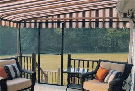 Awnings With Screens residential patio fixed frame awnings awnings direct