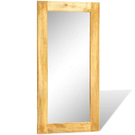 matratze 60 x 120 solid wood framed rectangle wall mirror 120 x 60 cm