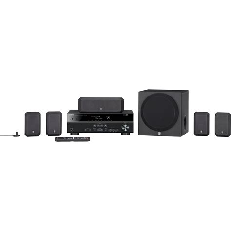 Home Theater Yamaha yamaha yht 399ubl 5 1 channel home theater in a box yht 399ubl