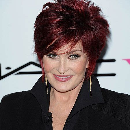 how to get osbournes haircolor sharon osbourne turning her breast implants into