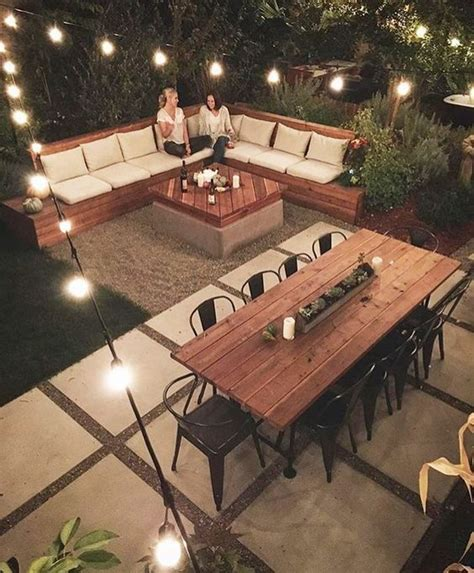 Patio Design Ideas On A Budget Lighting Furniture Design 20 Amazing Backyard Ideas That Won T The Bank