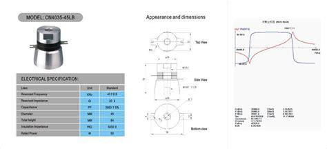 design guidelines for medical ultrasonic arrays 40k 500w array ultrasonic transducer ultrasonic cleaner