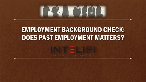 Does A Background Check Show Previous Employers Ppt Employment Background Check Does Past Employment