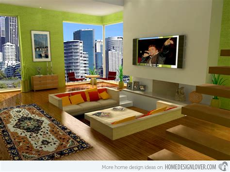 Green Themed Living Room by 20 Refreshing Green Themed Living Rooms Decoration For House