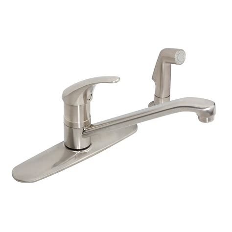 symmons s 2660 dia kitchen faucet symmons dia 1 handle shower faucet system in satin nickel
