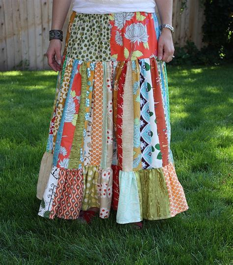 Patchwork Skirt Tutorial - 17 best images about clothes to make on maxi