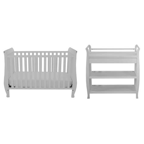 4 in 1 convertible crib with changing table athena 4 in 1 convertible crib with changing table