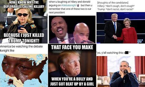 presidential debate  memes  donald trump
