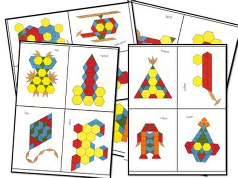 kindergarten pattern blocks printables pattern block worksheets kindergarten 1000 ideas about