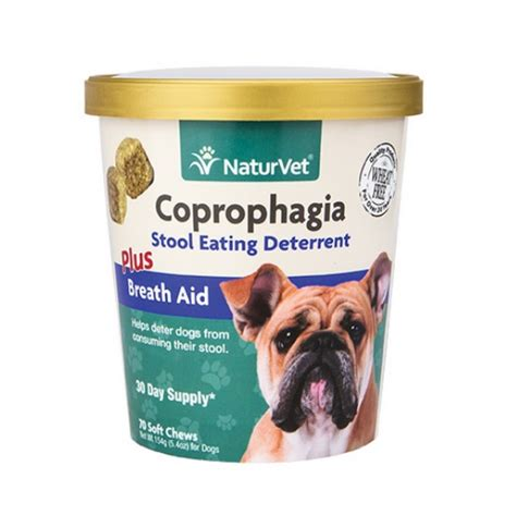 coprophagia in dogs naturvet coprophagia stop soft chews for dogs naturalpetwarehouse