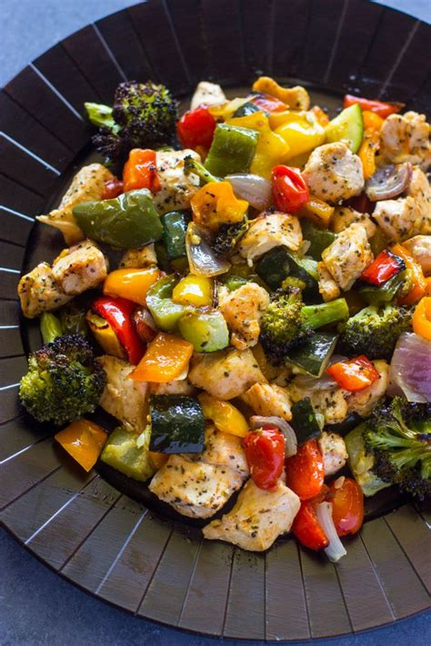 15 minute healthy roasted chicken and veggies one best 10 meals ideas on easy dinners