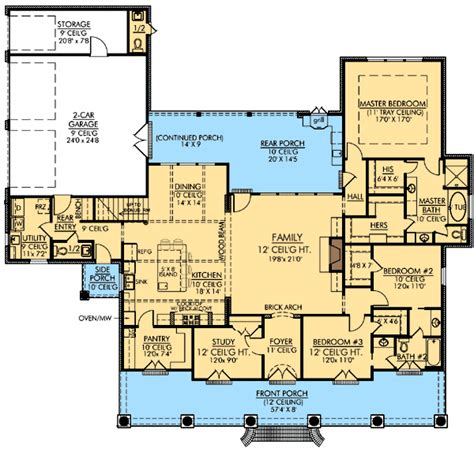 acadian style floor plans acadian homes on pinterest acadian style homes acadian