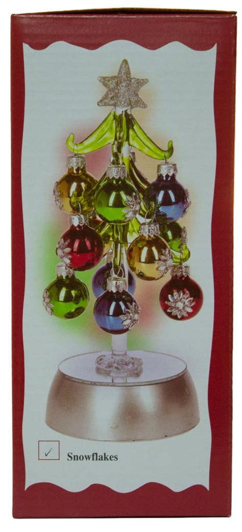 12 inch tree with lights ganz 8 inch light up glass tree with 12