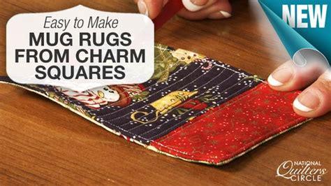 mug rugs to make how to make a mug rug quilt for friends and squares