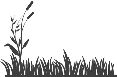Garden Silhouette by Free Vector Graphic Flowers Grass Silhouette Garden