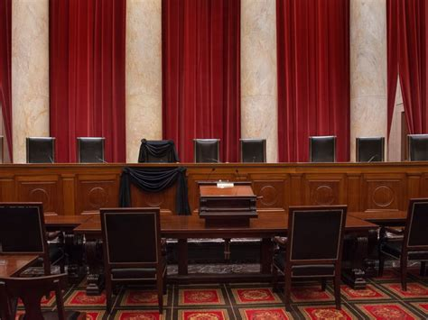 supreme court bench antonin scalia s supreme court chair and bench draped in
