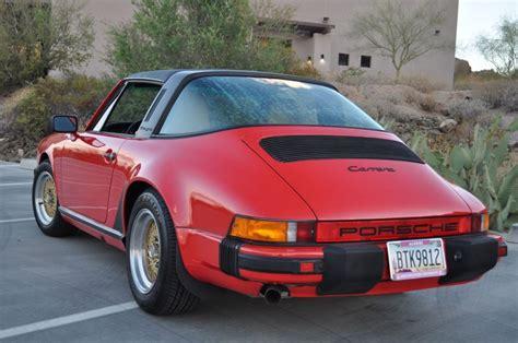 1986 porsche targa for sale 1986 porsche 911 targa for sale