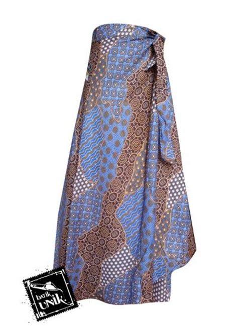 Rok Lilit Lembaran Bahan Batik Sanwosh rok batik lilit panjang motif sekar langit bawahan rok murah batikunik
