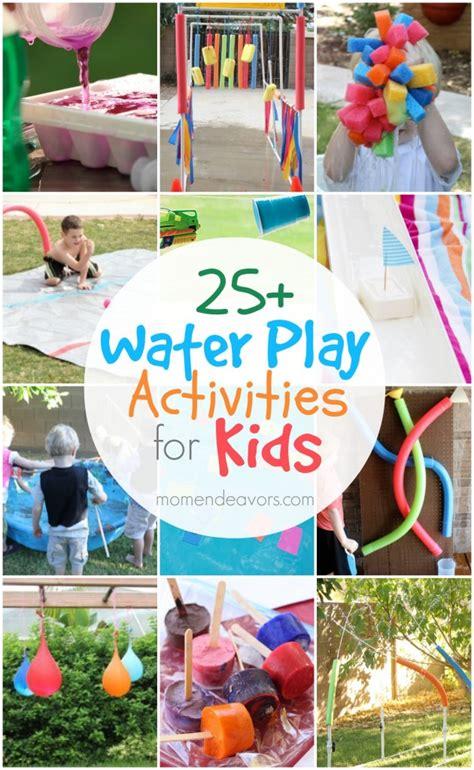 25 outdoor water play activities for