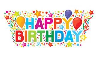 happy birthday colorful image
